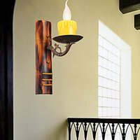 antiquing walls - Chinese Style Antiquing Vintage Led Wall Light For Home Wall Sconce Arandela Lampara De Pared