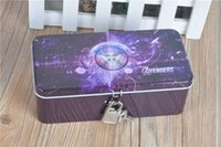 big lock box - ANINARA Avengers Storage Box Big Size School Supplies with Lock
