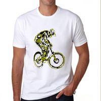 animal bikes bmx - New Summer Fashion Design Tshirts Men MTB BMX DH Mountain Bike Bicycle Cycling Off Road T Shirts Novelty T shirts