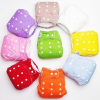 Wholesale HOT Reusable Baby Infant Nappy Cloth Washable Diapers Soft Covers Free Size Adjustable Fraldas Winter Summer Version