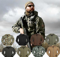Wholesale Mens Jacket Lurker Shark Skin Shell Outdoor Tactical Camping Hiking Jackets Waterproof Windproof Sports Jackets Camouflage Army Clothing