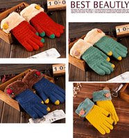 Wholesale 6color Touch Screen Gloves womens Mens Use Device While Keeping Hands Cosyan Warm