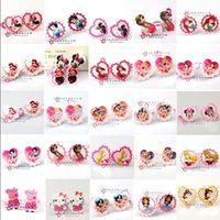 little girl jewelry - My little pony Frozen Mickey Minne Mermaid Girls Hair Accessories Headdress HairClips princess HairBands kids Jewelry about styles V205