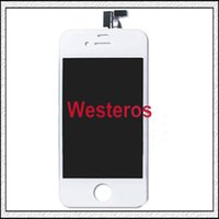 Wholesale Best quality iphone S G Complete LCD Screens Front Display Digitizer Glass Screen Assembly Free DHL