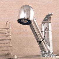 Cheap Pull out Spout Spray head Conzinha sink faucet Chrome cast Tap Lavabo mixer kitchen torneira banheiro hansgrohe rubinetto TB2026