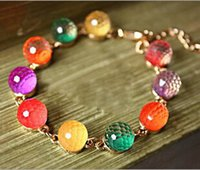 strands of glass beads - Women s Accessories Lady Necklace Women s Jewelry A Variety Of Color Crystal Glass Beads bracelet