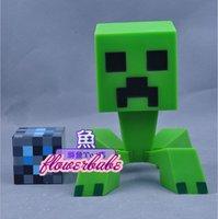 gift box ornament - My World minecraft Crawler Boxed Doll Toy ornaments birthday gift