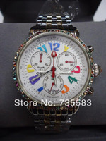 michele watch - Brand Michele MW03M25A1933 CSX Carousel Quartz Chronograph Women s Watch New