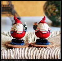 resin christmas ornaments - European ornaments resin chubby Santa Claus Christmas ornaments single price C8
