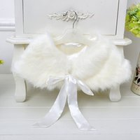 baby wearing poncho - 2015 baby poncho faux fur coat kid girls winter wear thick outwear childrens boutique christmas clothing shawls wraps cape for party dresses