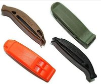 Wholesale Outdoor survival whistle Lifesaving whistle Spot goods Best selling