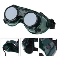 Wholesale New Welding Solder Goggles With Flip up Darken Cutting Grinding Safety Steampunk Industrial Protective Glasses