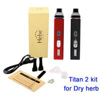 Cheap Titan II herbal vaporizer kit Best 2200mAh Electronic cigarette Titan 2 kit