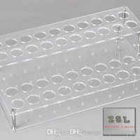 acrylic store displays - vape store supermarkets electronic cigarette display Acrylic Hole Display Stand for E Cigaretteeach hole size mm