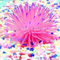 Wholesale Silicone Aquarium Fish Tank Decor Underwater Artificial Coral Plant AO P