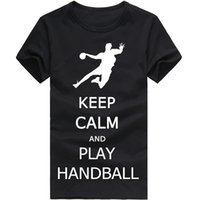 big and tall shirts wholesale - Play Handball Design Fashion Men s T Shirt Big And Tall Size For Man Clothing Short Sleeve Cotton