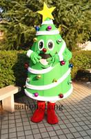 NOUVEAU costume adulte de mascotte d'arbre de Noël