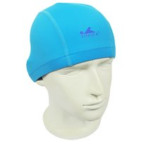 Wholesale 2016 New Women and men universal Swimming Cap Brand Particle Swimming Cap Silicone waterproof Protect ear particle swimming caps