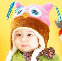 Wholesale Cute Unisex Baby Kids Warmly Winter Snow Hats