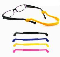 Wholesale Colorful Silicone Eyeglasses Strap Glasses Sunglasses Sports Band Cord Holder