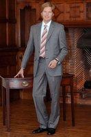 best suit brands - Brand New Gentleman Two Buttons Closure Collar Men Suits Bridegroom Tuxedos Best Man Suit Wedding Suit Jacket Pants