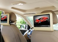 hdmi dvd player - universal one pair inch car headrest DVD player with USB SD Bracket HDMI bits Game IR FM PC DVD PC monitor