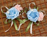 Wholesale Charming New Fasion Brooches for Women custom pin jewelry Flower brooch with Pearls and Ribbons Bridal Accessories