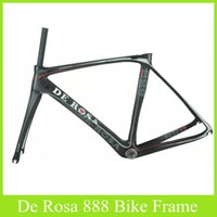 Carbon Fibre racing bike - 2014 De Rosa SuperKing Superking E Nero Road Bike Carbon Frames Road Racing Carbon Frameset SUPERKING Carbon Frame