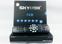digital satellite receiver hd - NEW Original Skybox F3S Full pi HD PVR Digital Satellite Receiver support usb wifi youtube Via DHL