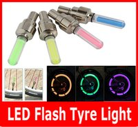 auto led wheel light - New LED Flash Tyre light Flashing different color LED Wheel Light For Auto Car Motorcycle Bike Bicycle Cycling Tyre