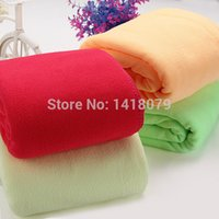 Wholesale 70x140cm Colors Microfiber Absorbent Towel Car Clean Drying Cloth Washcloth
