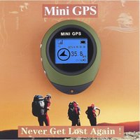 Wholesale Handheld Keychain PG03 Mini GPS Navigation USB Rechargeable For Outdoor Sport Travel
