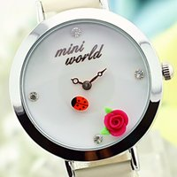 beatles watch - Korean mini premium women s watches fashion watches clay floral elements manufacturers on behalf of the Beatles cartoon