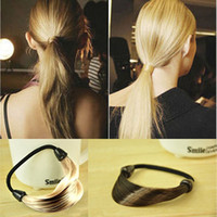 Wholesale Hair Jewelry Hair Rubber Pepper potts wig Hair bands braids Elastic hair band rope Hair accessories