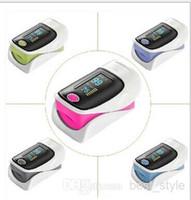 Wholesale Health Care SH C2 CE FDA OLED Finger Pulse Oximeter Blood Oxygen SpO2 Saturation Oximetro Monitor with case Hot Sale Blood Pressure Monitors