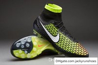 football wear - Nike Magista Obra AG Mens Soccer Shoes Soft Spike Football Wear New Shoe Men Football Boots size