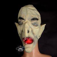 adult male devil costumes - Male Wizard Terrorist Mask Horror Ugly Devil Face Prank Props Halloween House of Terror Mask Horror Cosplay Costume Decoration