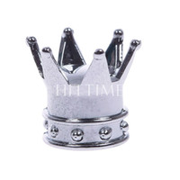 bias truck tire - Car Truck Motocycle Bike Crown Shaped Tire Wheel Stem Air Valve Cap A2
