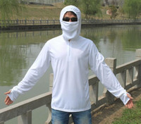 Wholesale Quick Drying Long Sleeve Fishing Clothes UV Stop Sunscreen Agents Anti mosquito Fishing Clothing WY71 P