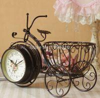 Wholesale home live decoration ornamental clock desktop clock table clock