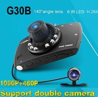 Wholesale G30B inch P LCD Car DVR Vehicle Camera Video Recorder Dash Cam G sensor Night Vision Car Camcorder