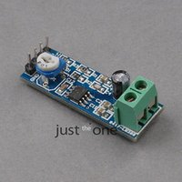 amplifier ic chip - V V Input Audio Amplifier Module LM386 Chip Times10K Variable Resistor