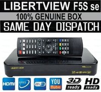 Wholesale Hot Selling same as Skybox F5S Libertview F5S se HD full p satellite receiver support usb wifi youtube