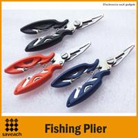 Купить Piscifun рыбалка-Piscifun 122мм Рыбалка Плоскогубцы Нерж.сталь Карп Рыболовные принадлежности Рыболовный крючок Remover Line Cutter Fly Fishing
