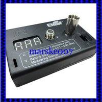 Wholesale 2014 high quality eleaf ismoka ohm volt meter Digital Ohmmeter Voltmeter Ohm Reader Vaporizer tester ohm Meter for atomizer