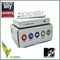 Wholesale White Color Android Arabic IPTV Box HD free for year USA Warehouse in stock to USA Canada