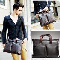 Wholesale Brand New Men s Fashion Genuine Leather Handbag Messenger Shoulder Bags Briefcases Laptop Bag Pouch
