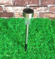 mini solar light garden - mini solar lightt Outdoor Solar Garden Light Garden Lawn Lamp Light Stainless Steel Decorative LED Lights