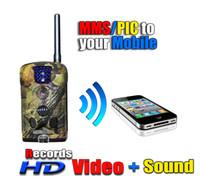 Cámara de la caza de la cámara GSM / GPRS IR del juego del rastro del resplandor HD del MMS del bajo video 940nm de la bellota 6210MM 6210MM 6210MG 6210MG 1280nm Envío libre