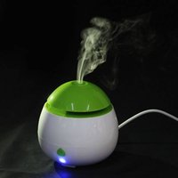 Wholesale USB Mini Aromatherapy Essential Oil Diffuser Ultrasonic Aroma Air Humidifier White Green